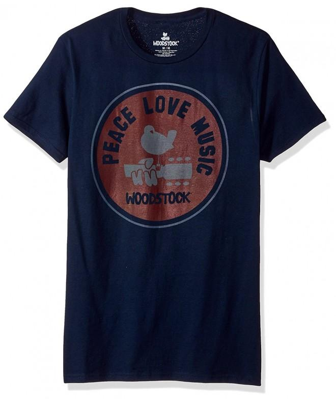 Woodstock Peace Sleeve Graphic T Shirt