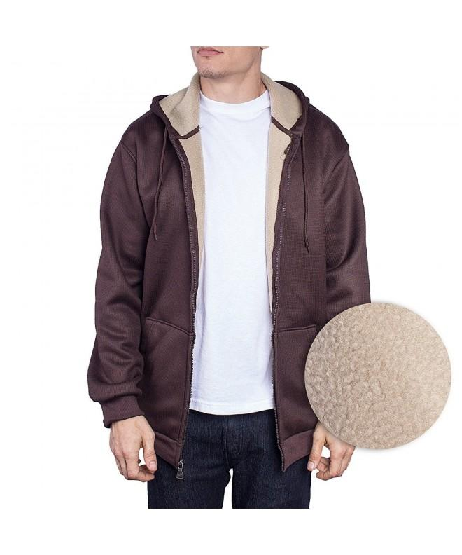 Jacket Thermal Sweater X Large Chocolate