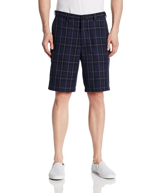 Haggar Expandable Waistband Fancy Plaid