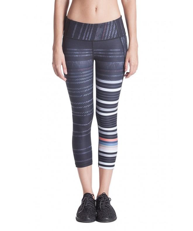 WOMENS Panel Capris Stripe Tourton S