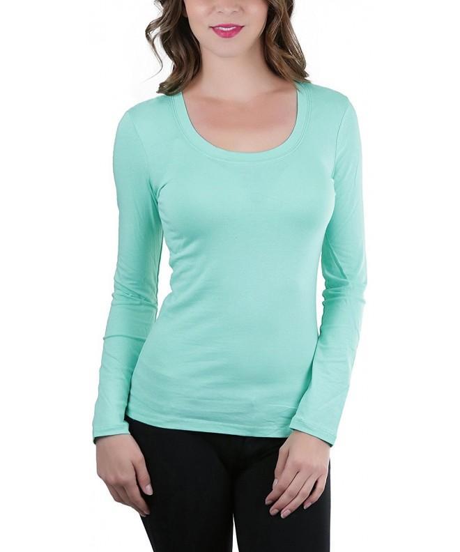 ToBeInStyle Womens Sleeve Neckline T Shirt