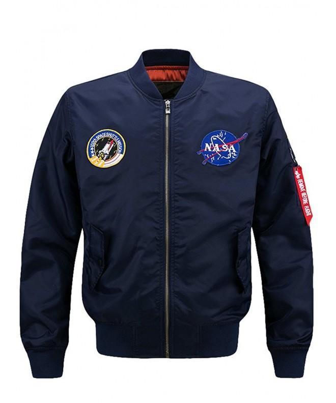 Vogstyle Jacket Flight Embroidery Jackets