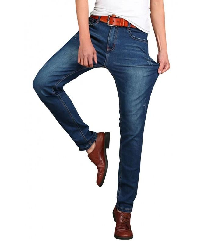HENGAO Stretch Casual Denim Jeans