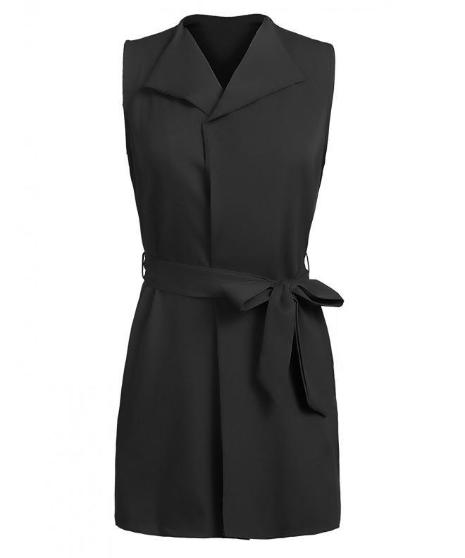 Beyove Womens Casual Sleeveless Waistcoat