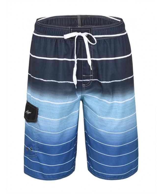 Hopgo Shorts Boardshorts Trunks Drawstring