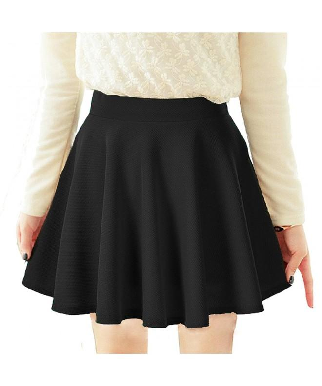 LIFEWHEEL Womens Princess Pleated Skirt black