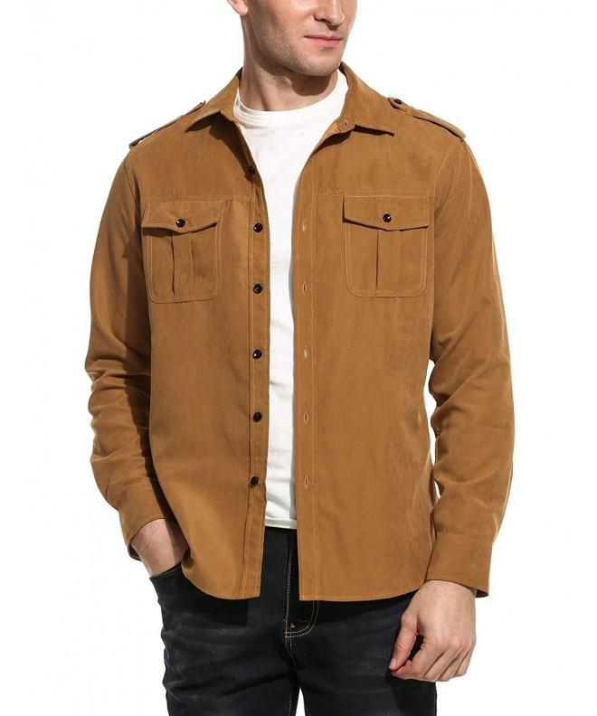 Simbama Casual Sleeve Shirts Button