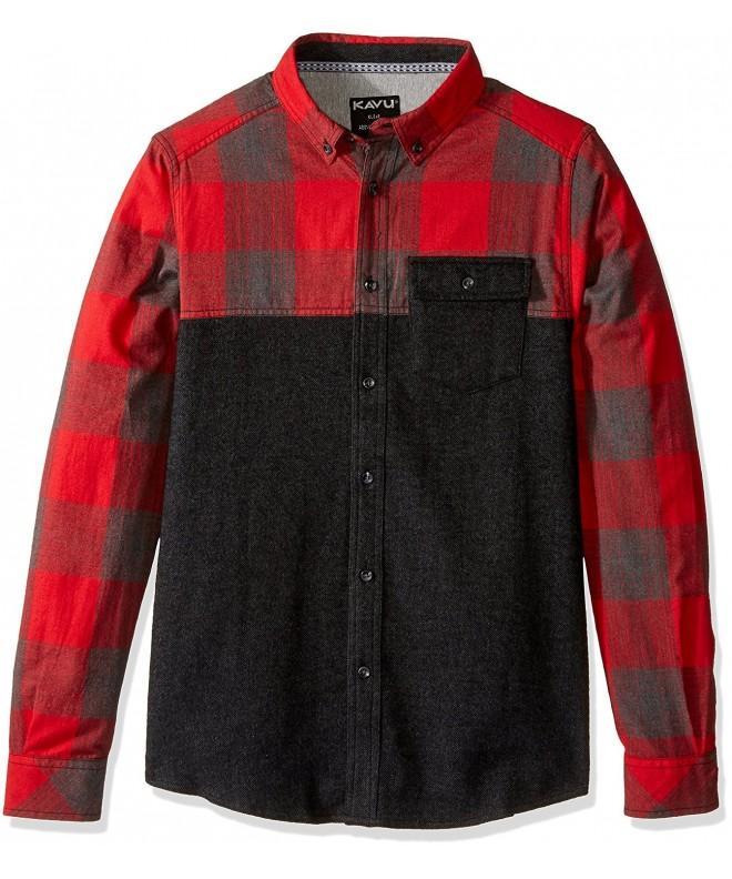 KAVU South Sleeve Lumberjack Medium