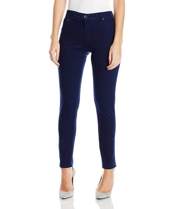 Ruby Rd Womens Knitted Indigo