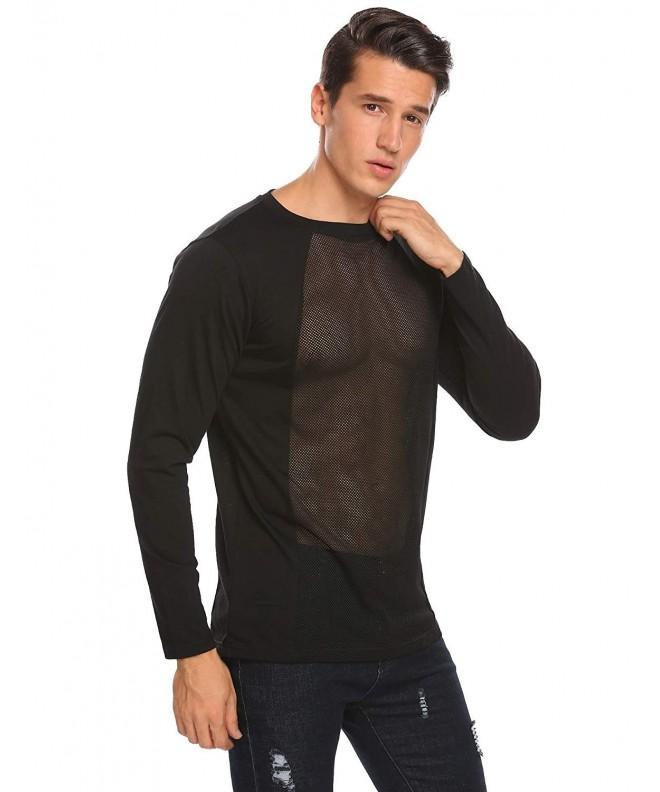 Coofandy Through Clubwear Sleeve X Large