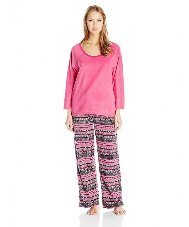 Midnight Carole Hochman Womens Microfleece