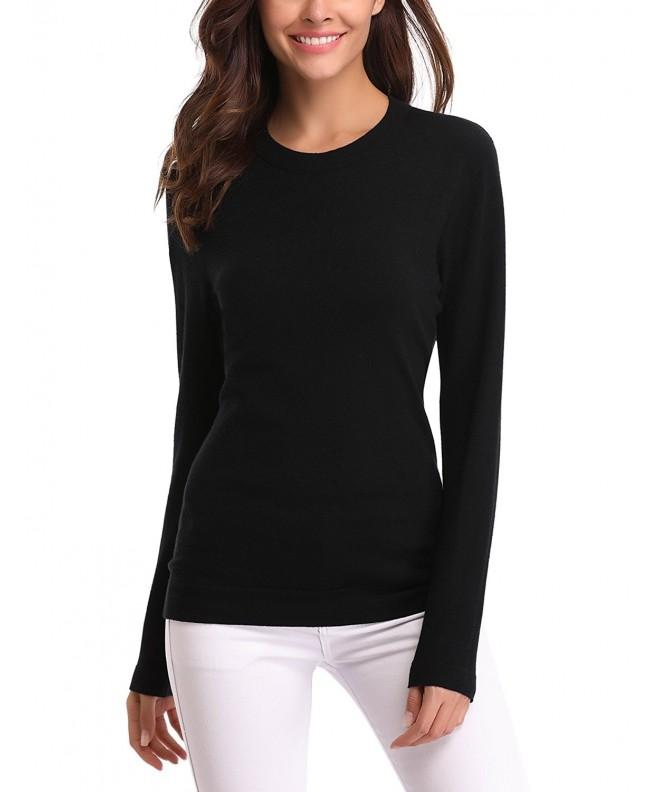Abollria Womens Sleeve Sweater Pullover