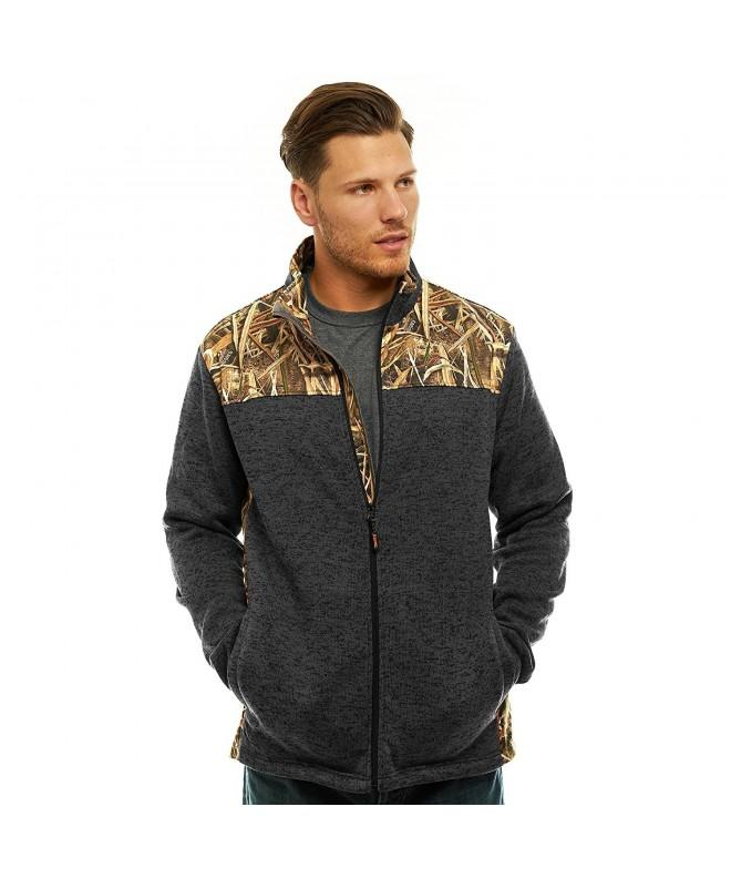 TrailCrest Cardigan Sweater Fleece Jacket